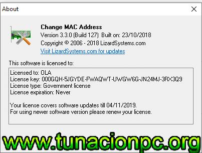 Descargar Change MAC Address Full con licencia