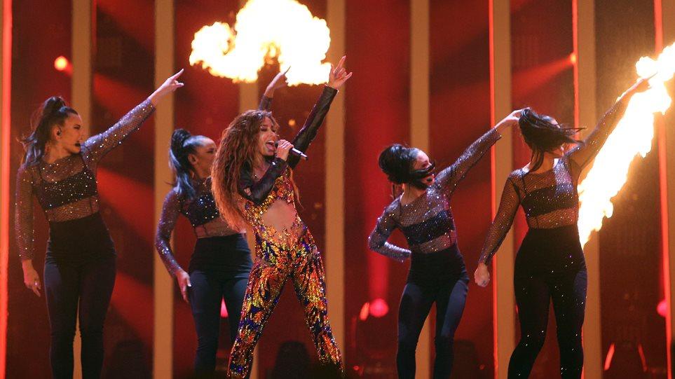Eurovision 2018: Η Ελένη Φουρέιρα μοιάζει απόψε σαν να μην έχει αντίπαλο