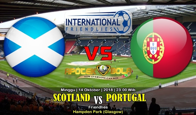 Prediksi Skotlandia vs Portugal 14 Oktober 2018