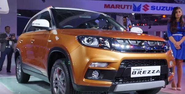 Maruti Suzuki Launched Amazing Vitara Brezza 2016