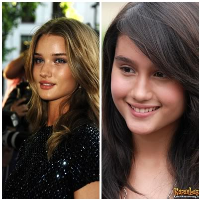 Cinta Laura dengan Rosie Huntington-Whiteley 2