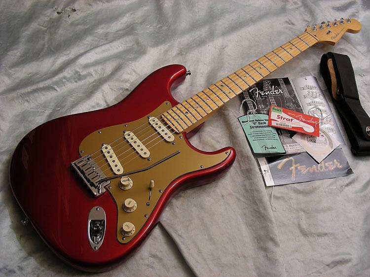 Fender American Deluxe V Neck Stratocaster Cool Guitars