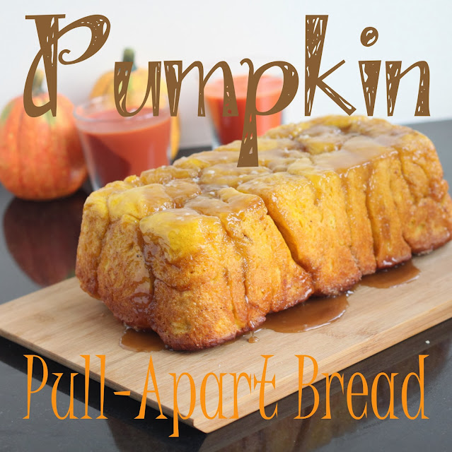 Pumpkin Pull Apart Bread a tasty fall recipe for fall baking from Life Sew Savory