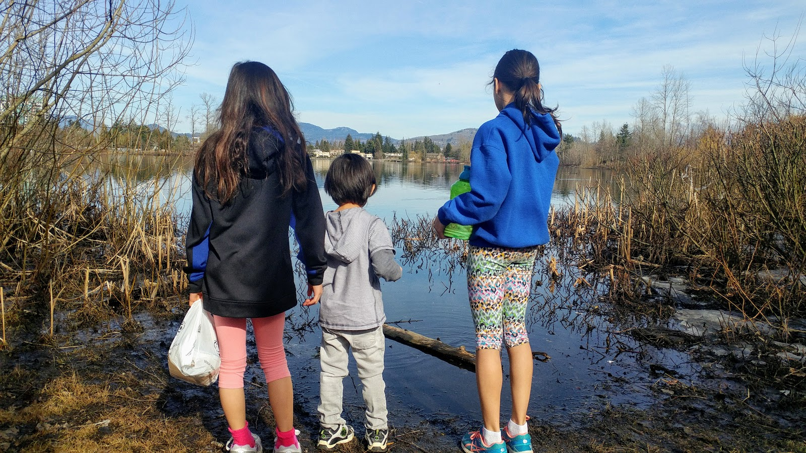 Last Year On Spring Break At Milk Lake Park Abbotsford