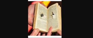 Biblia le salvo la vida