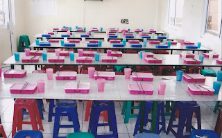 Ruang Makan bagi calon TKW selama mengikuti pelatihan di BLK
