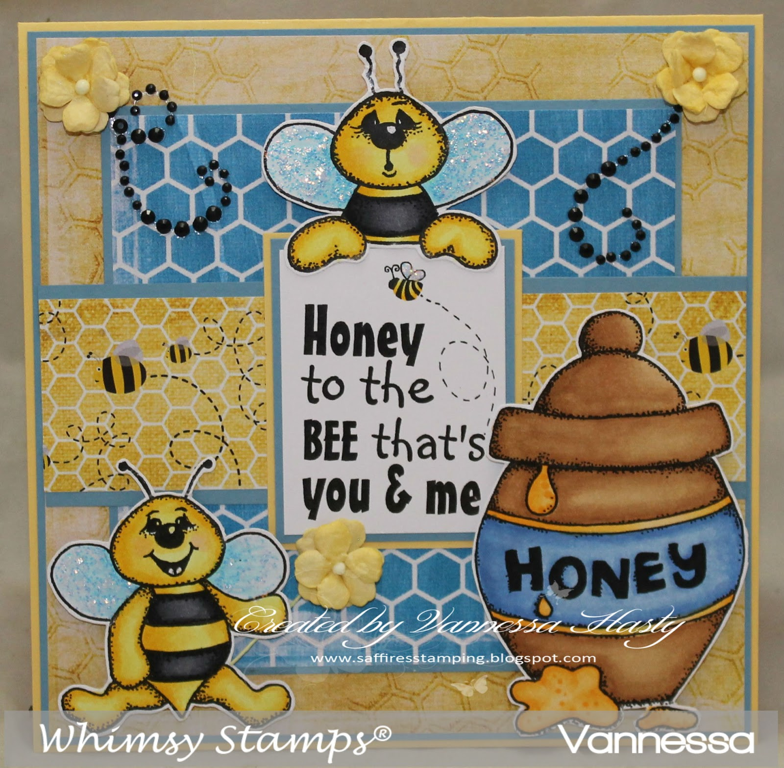Saffire's Stamping: Whimsy Stamps Inspiration Post - Honey ... - photo#32