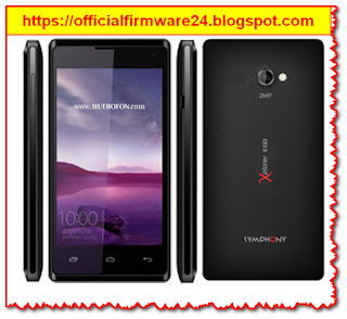 Symphony E60 Official Firmware/ Flash File Free Download