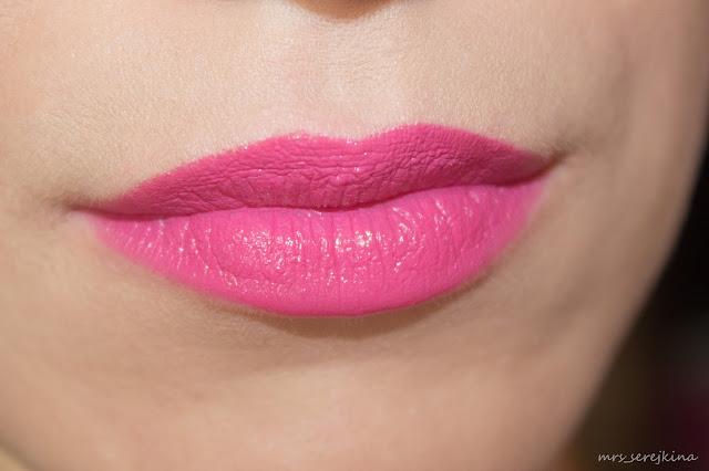 Sleek MakeUp Power Plump Lip Crayon Fully Fuchsia swatch