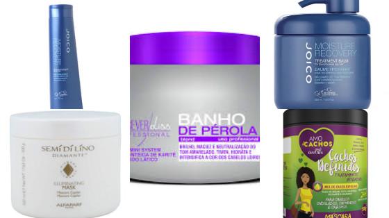 produtos cabelo com manteiga karite low poo