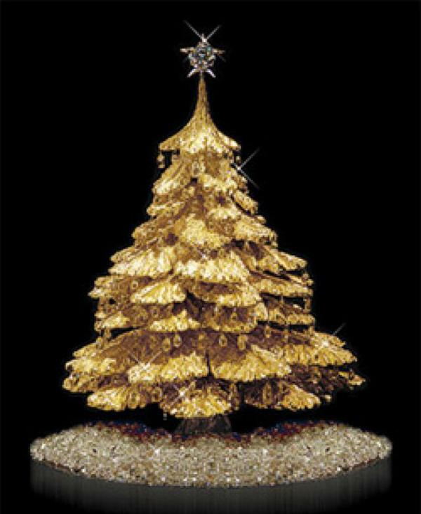 Árbol de navidad de lujo