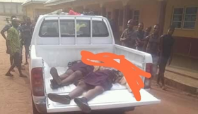 Two Students Killed After Hilux Van Ran Into School In Anambra [Photo]