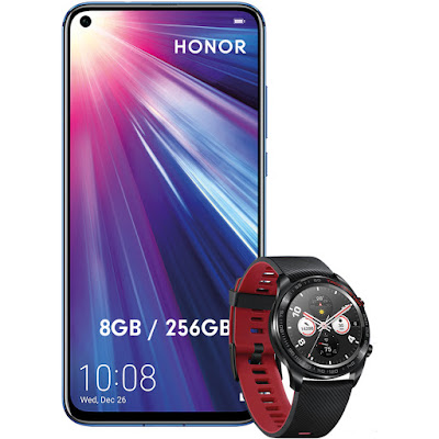 Honor View 20 256 GB + Honor Magic Watch