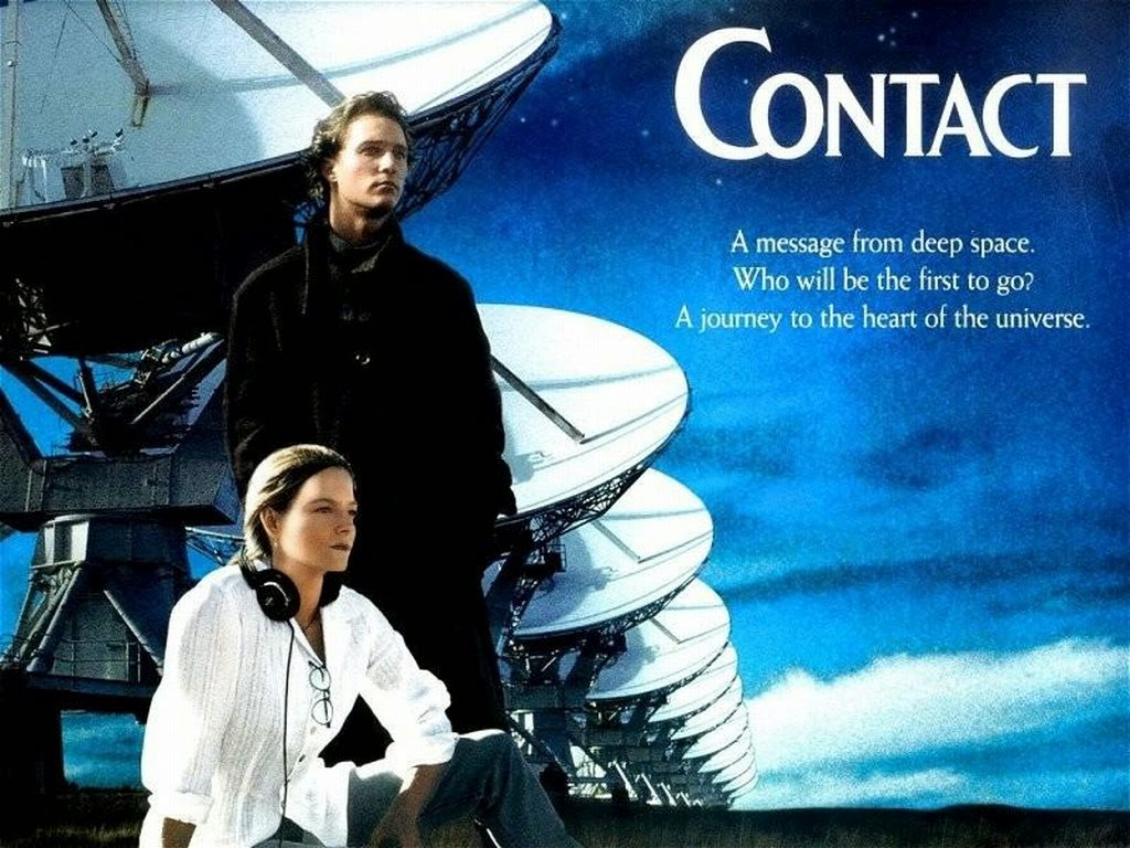 contact 1997 movie poster jodie foster matthew mconcaughey