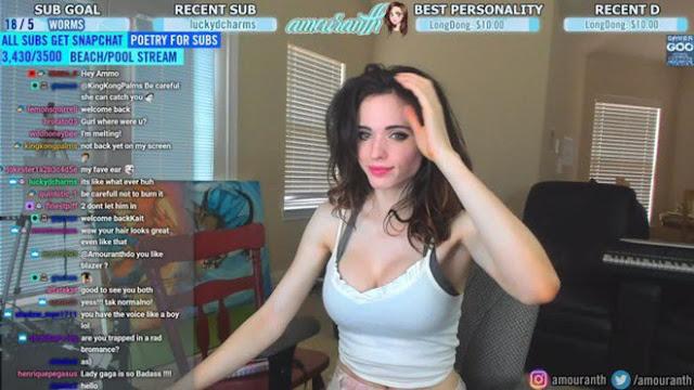 Amouranth - nữ streamer nóng bỏng gây tranh cãi bậc nhất thế giới