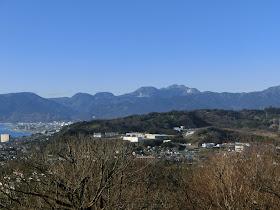 吾妻山公園からの箱根