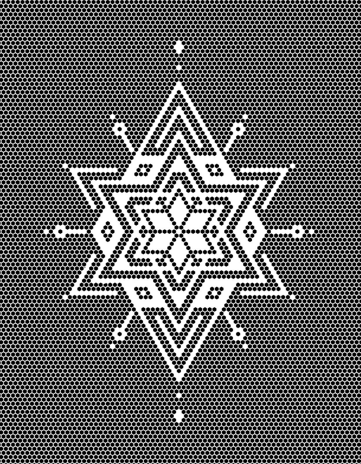 Hexagon Tile Star Pattern