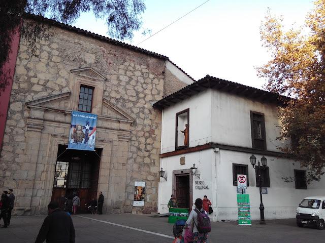 Museo Iglesia de san Francisco, Santiago, Chile