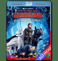 CÓMO ENTRENAR A TU DRAGÓN 3 (2019) FULL 1080P 3D HOU HD MKV ESPAÑOL LATINO