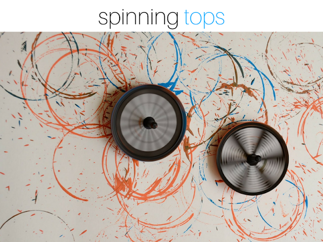 Got Bored Kids? 17 Practical Mom Ideas to try right away! Spinning Tops