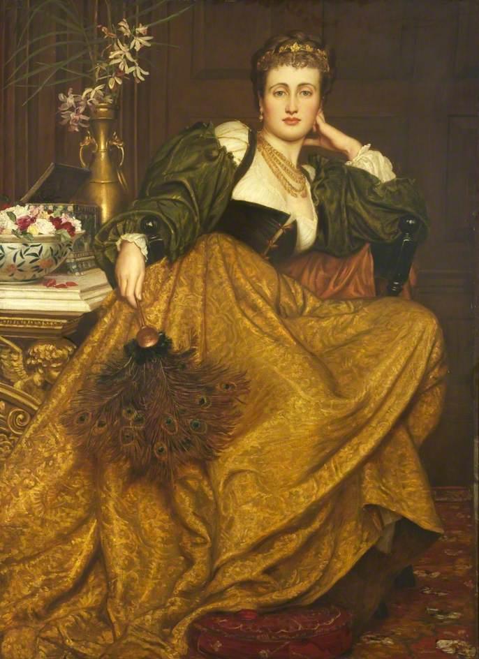 Valentine Cameron Prinsep 1838-1904 | Indian-born British Pre-Raphaelite painter