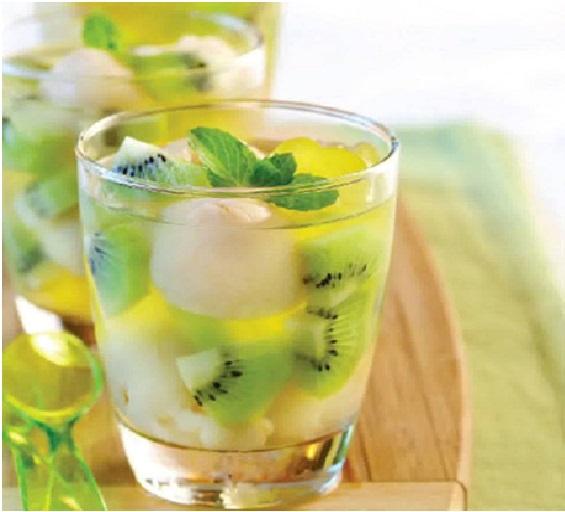 Resep Minuman Kiwi Punch Soda