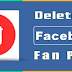 How to Delete A Page From Facebook