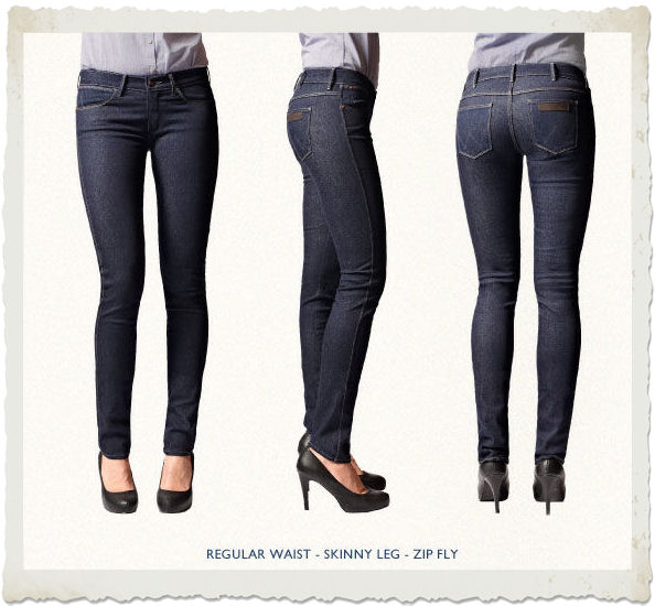 jeans cosmetici wrangler modello Corynn