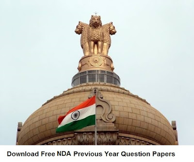 Download Free NDA Previous Year Question Papers with Answers PDF