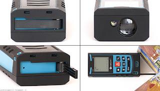 Etekcity Laser Distance Meter S9, linguetta angoli