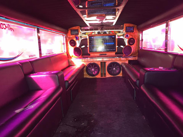 MUST SEE! This OFW Owns a Jeepney Worth 1 Million Pesos! It Even Has Wi-Fi, Aircon, Karaoke, and a Flat Screen TV!