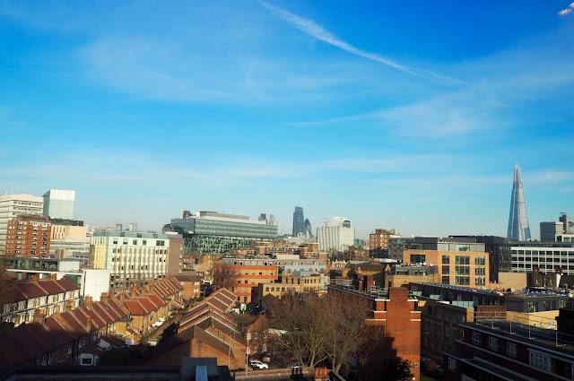 London Skyline from Hilton Waterloo