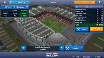 Selamat pagi teman bangdero kembali lagi dengan admin yang gres berdiri ini akan selalu m Dream League Soccer 2018 v5.064 Mod Apk Data (Unlimited Money)