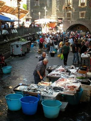 Italia. Italy. Italie. Sicilia. Sicily. Sicile. Catania. Catane. Mercado. Pescheria