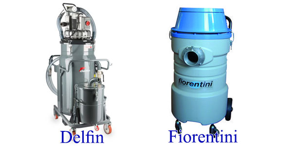 Máy hút bụi nhà xưởng Fiorentini và delfin