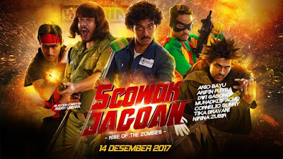 DOwnload Film 5 Cowok Jagoan Rise of the Zombies (2017) Full Movies