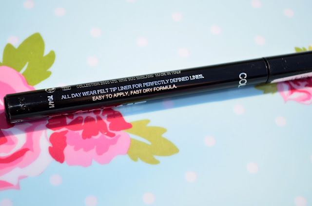 Collection Extreme 24 Hour Felt Tip Liner Review / Swatches