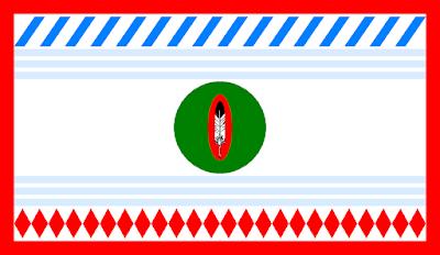 Bandeira da Nação Ocidental Shoshone