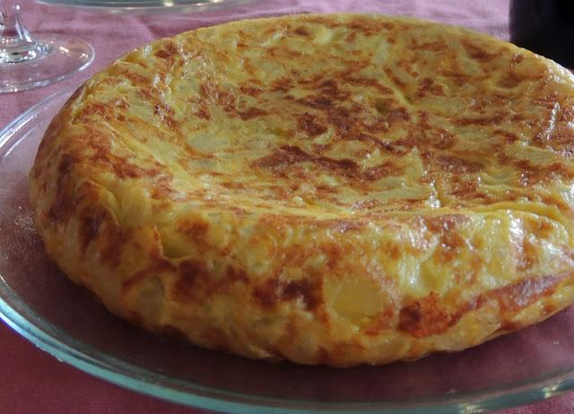 Tortilha Espanhola - Tortilha de Batatas