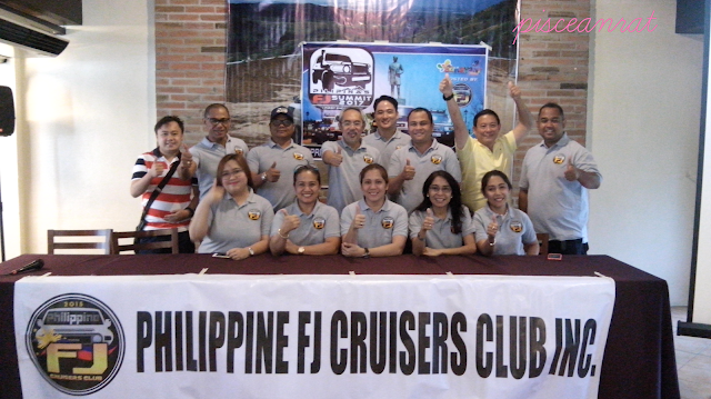 Officials of the Philippine FJ Cruisers Club Inc.