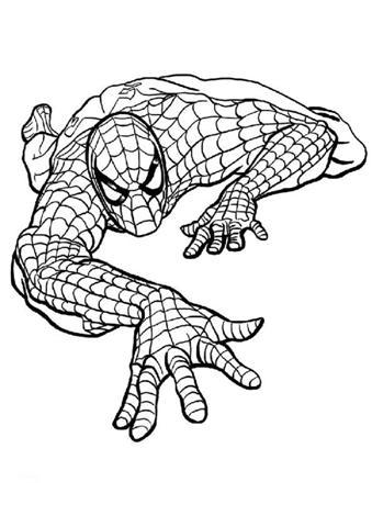 spider man picture coloring 23 - موقع العاب شمس فلاش al3ab flash games | 480x339