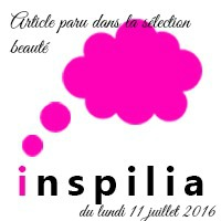 sélection beauté Inspilia 11/07/16