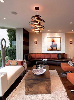 model lampu plafon gantung modern