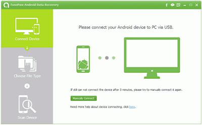 cara mengembalikan data android