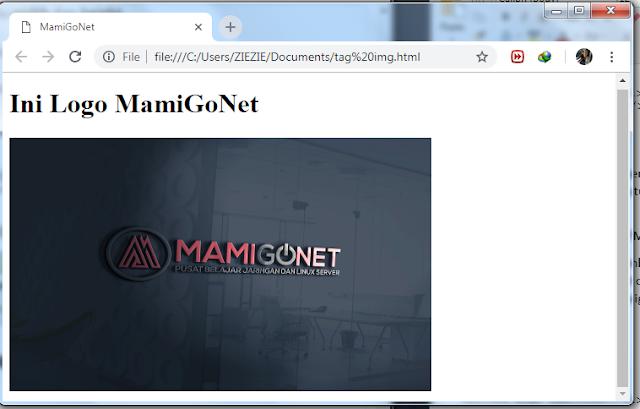 Cara Menambah Gambar di HTML
