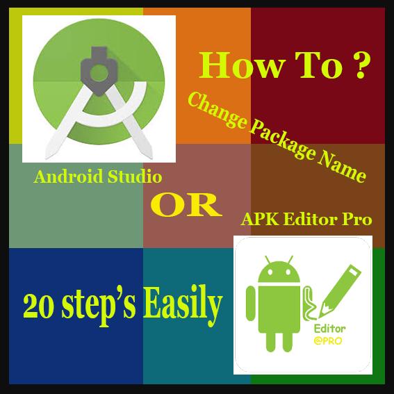 Cara Mengganti Package Name Aplikasi Melalui Aplikasi Android TERlengkap !!!