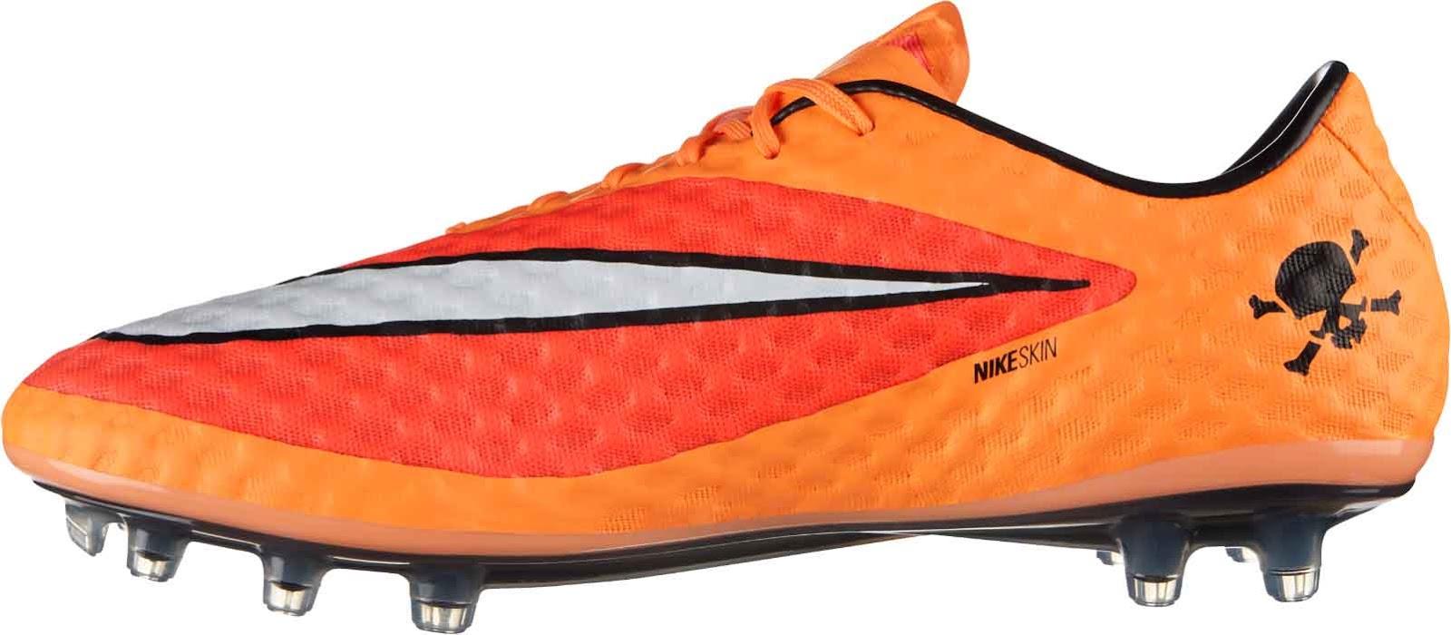 Footy News Orange Nike Hypervenom 14 15 Boot Released