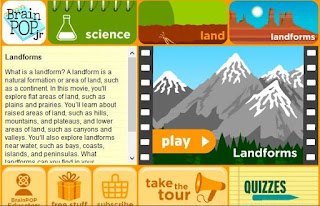 Landform video- Teaching Landforms:  Hands-on activity ideas for kids, no-prep engaging landform resources, and a FREEBIE landform activity.