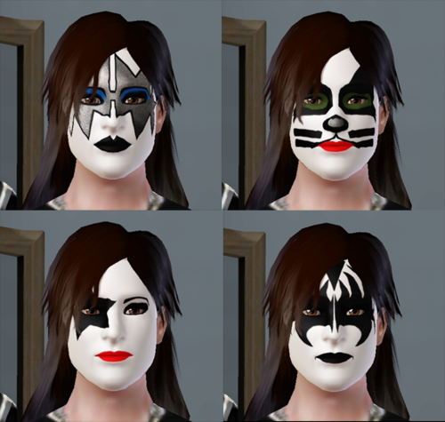 Kiss And Make Up: My Sims 3 Blog: Kiss Makeup By Brutaldesims