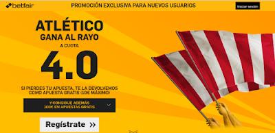 betfair Atletico gana Rayo supercuota 4 Liga 30 abril